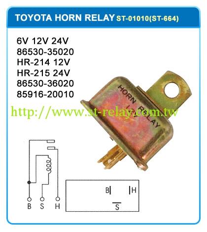 6V 12V 24V  86530-35020  HR-214 12V   HR-215 24V  86530-36020  85916-20010