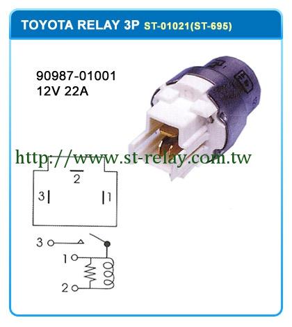 RY123 9098701001  12V 22A