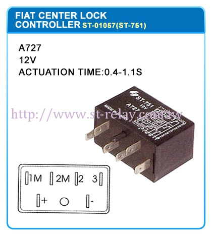 A727  12V  ACTUATION TIME:0.4~1.1S