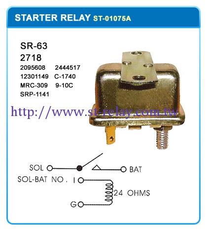 SR-63 2718  (2095608)(2444517) (12301149)(C-1740) (MRC-309)(9-10C) (SRP-1141)