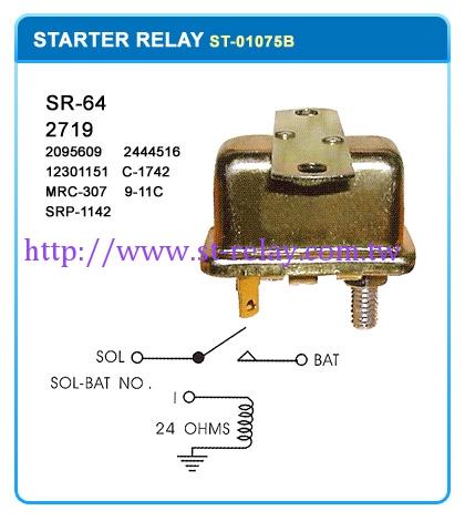 SR-64 2719  (2095609)(2444516) (12301151)(C-1742) (MRC-307)(9-11C) (SRP-1142)