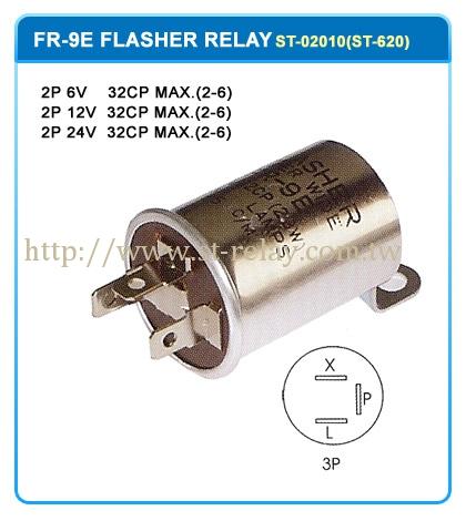FR-9E  3P 6V 32CP MAX. (2-6)  3P 12V 32CP MAX. (2-6)  3P 24V 32CP MAX. (2-6)