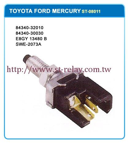 TOYOTA  FORD MERCURY  84340-32010  84340-30030  E8GY 13480 B  SWE-2073A