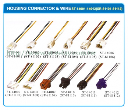 HOUSING CONNECTOR & WIRE