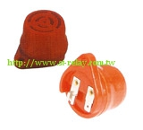 FOR USE WITH LOW PRESSURE WARNING SWITCHES 24V RED