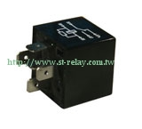 Waterproof Relay  12V 24V  5P 1C